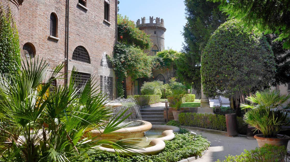 Cripta rasponi e i giardini pensili del palazzo della provincia di ravenna - I giardini di palazzo rucellai ...